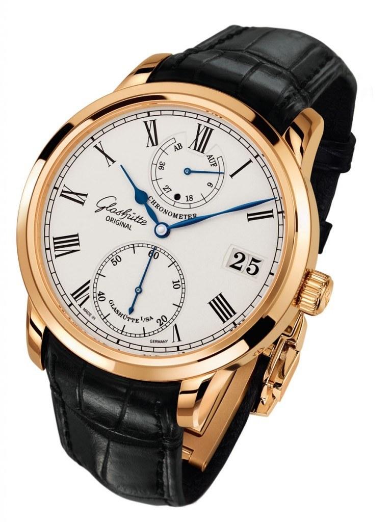 Der Senator Chronometer von Glashütte Original