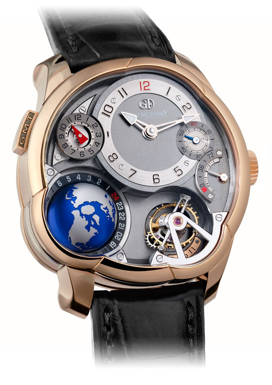 Greubel Forsey GMT Rotgold