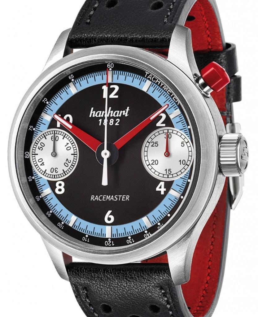 Ein-Drücker-Chronograph: Hanhart Pioneer Racemaster GMT (5.500 Euro)