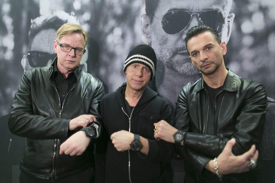 Depeche Mode und Hublot unterstützen die gemeinnützige Organisation charity: water