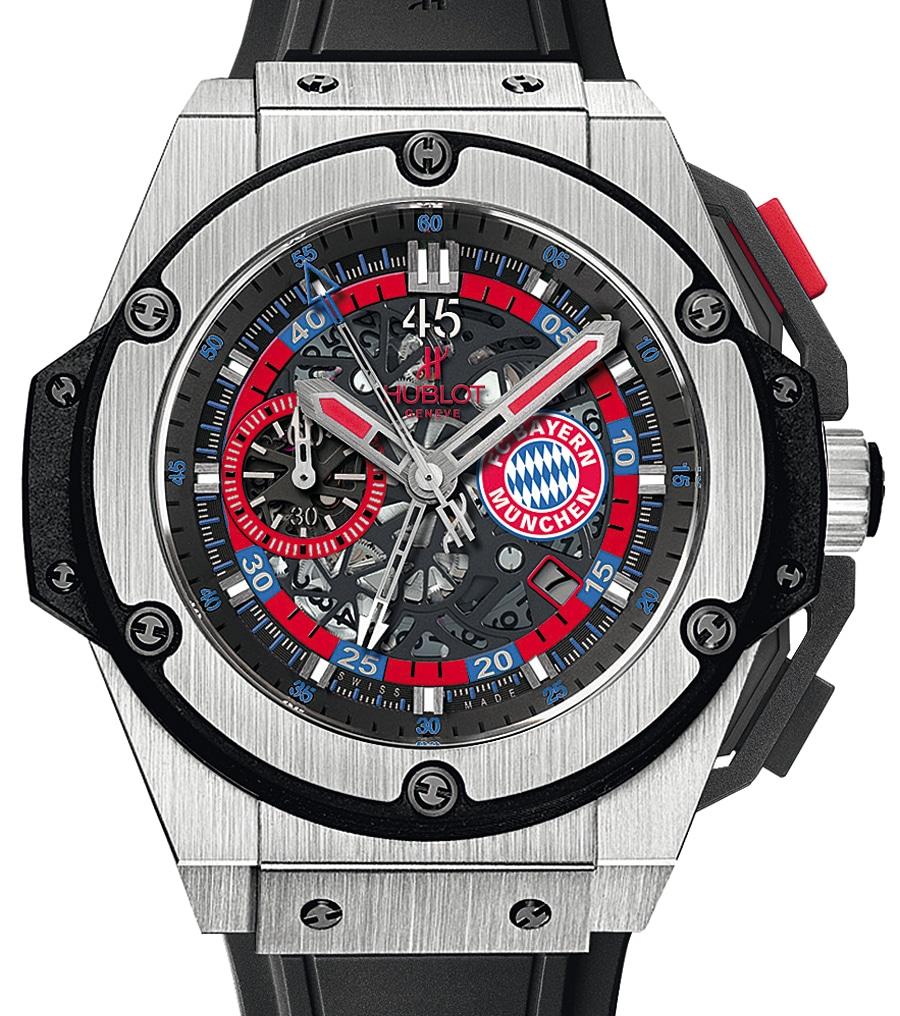 Halbzeitstopper: Hublot King Power FC Bayern München (17.600 Euro)