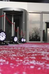 Der rote Teppich vor dem BMW-Museum ist für die Gewinner der Goldenen Unruh 2013 ausgerollt.