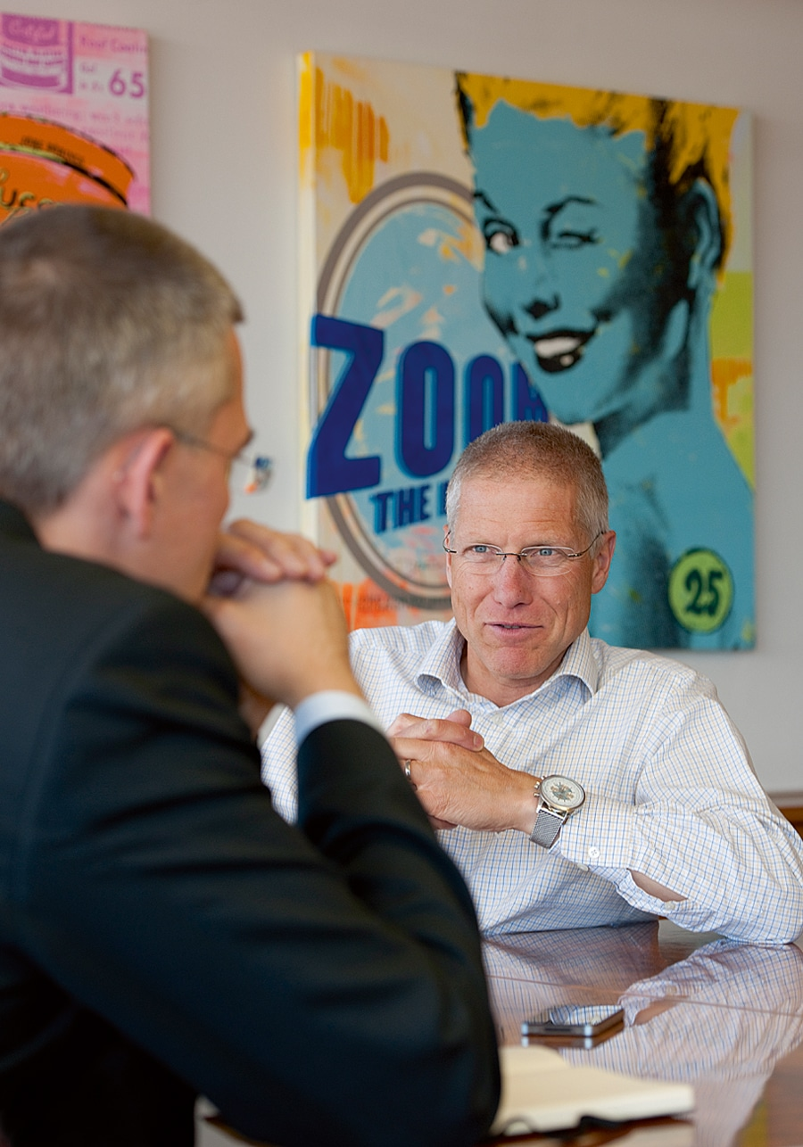 Jean-Paul Girardin im Gespräch mit Rüdiger Bucher