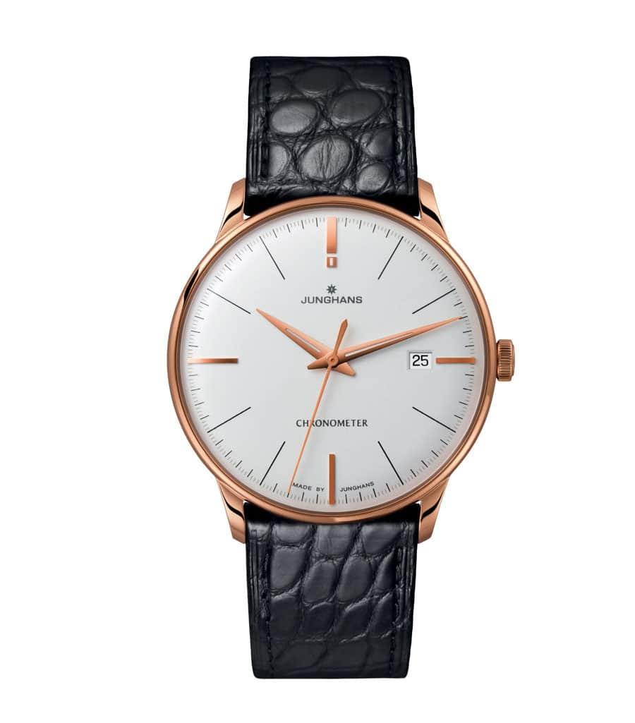 Ebenfalls neu: Meister Chronometer in Edelstahl mit PVD-Beschichtung