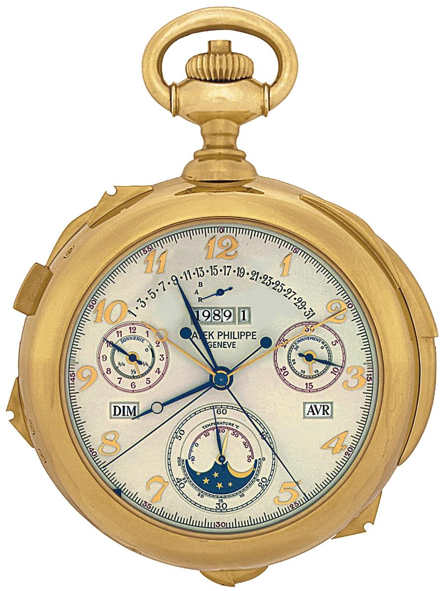 Das Kaliber 89 scheint das gesamte Erbe der Genfer Uhrmacherei zu vereinen: Mit seinen zahllosen Komplikationen und astronomischen Funktionen kostet es Patek Philippe neun Jahre Entwicklungszeit.