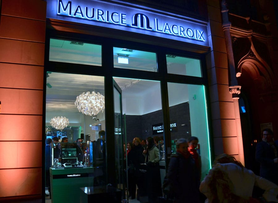 Maurice Lacroix eröffnete einen zweiten Flagship Store in Berlin in der Friedrichstraße