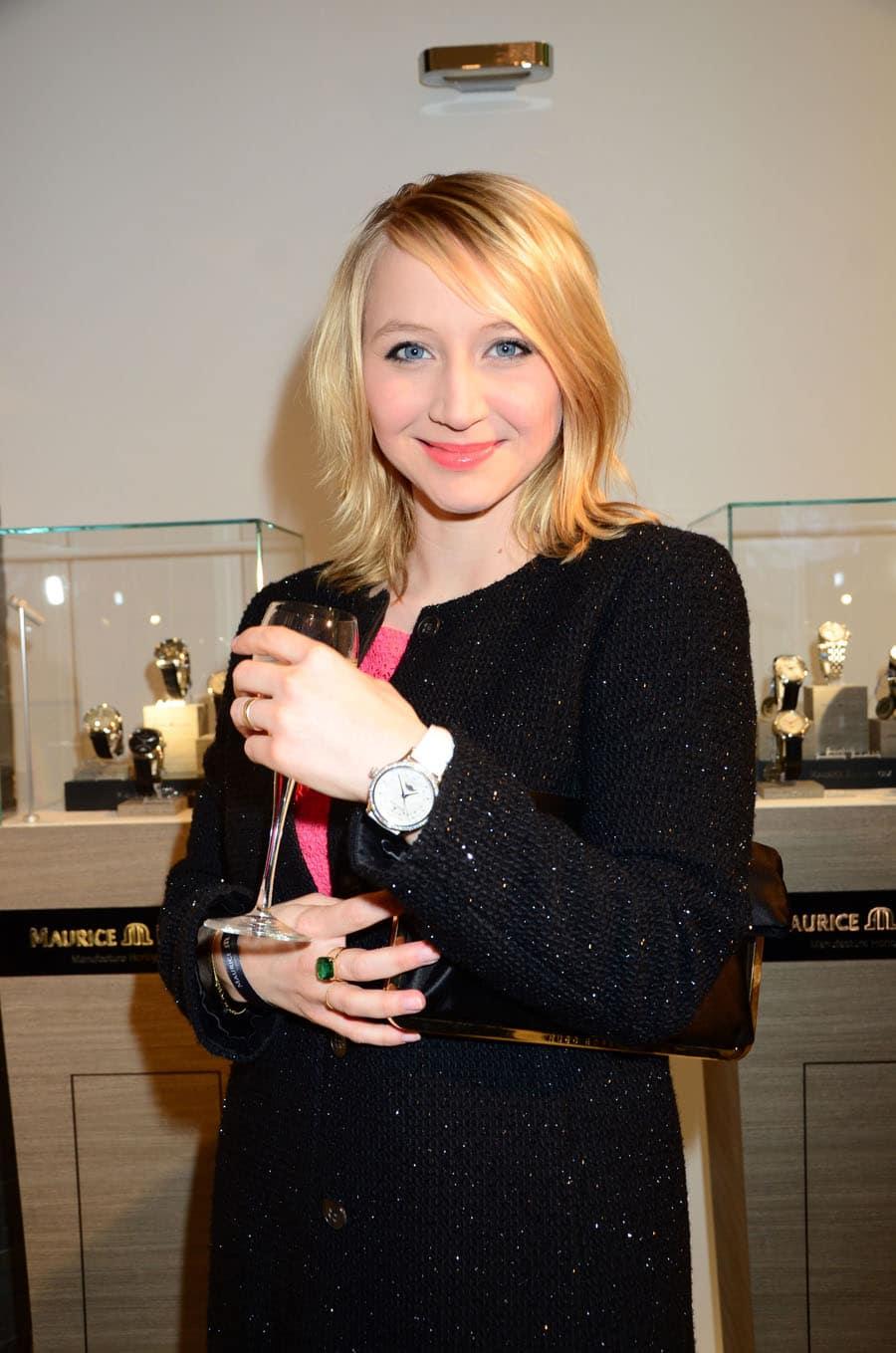 Die Schauspielerin Anna Maria Mühe befand sich unter den zahlreichen prominenten Gästen