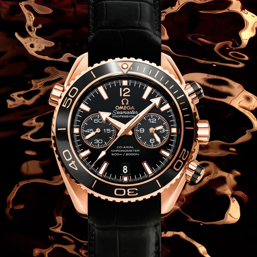 Omega Planet Ocean 45mm chrono mood