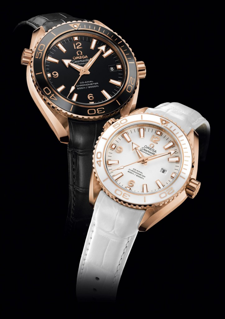 Omega Seamster Planet Ocean 42mm and 37mm