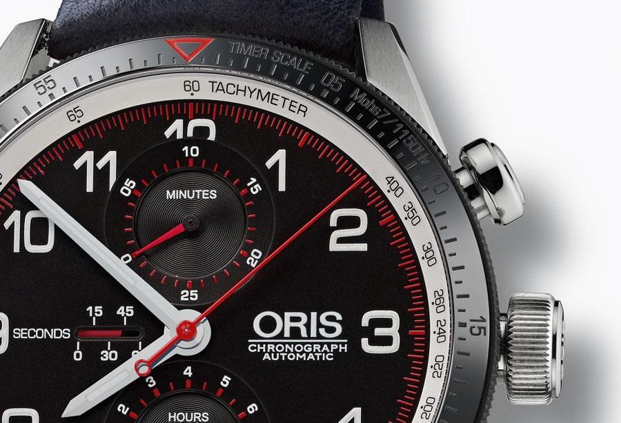 Oris Calobra Limited Edition Detail
