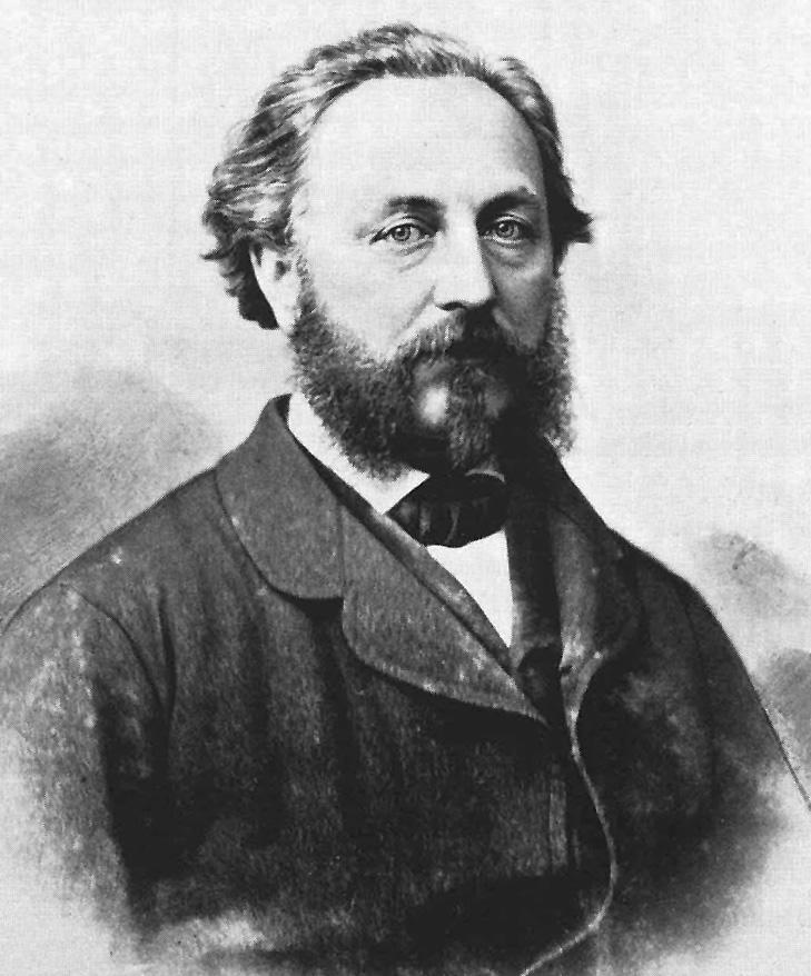 Robert Gerwig (1820–85), erster Rektor der Uhrmacherschule und Gründer der Sammlung des Uhrenmuseums. An seinem Namen kommt man in Furtwangen nicht vorbei