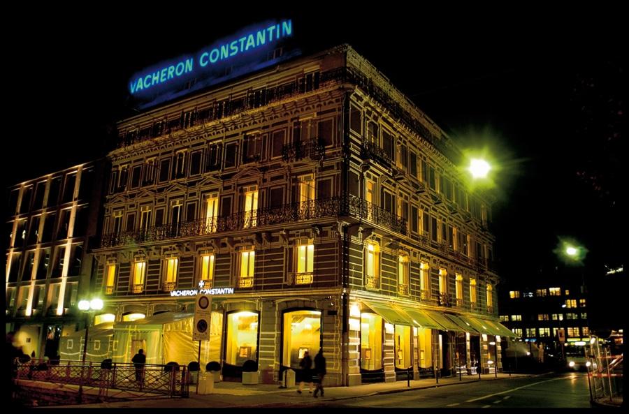 Die Heimat: Maison Vacheron Constantin auf der Rhôneinsel in Genf.