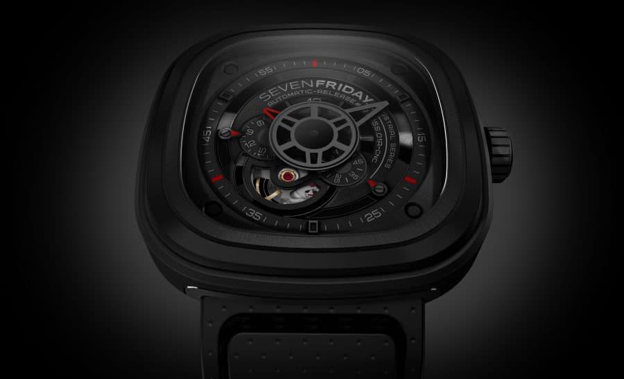 Die neue Uhrenmarke Sevenfriday präsentiert das Modell P3