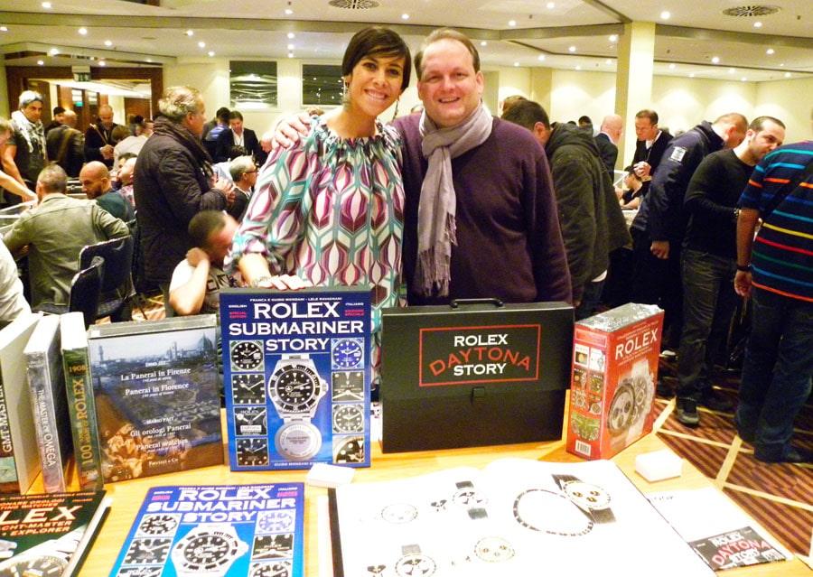 Boris Pjanic vertreibt Uhrenbücher aus dem Sortiment von Editore Mondani und von John Goldberger in Deutschland