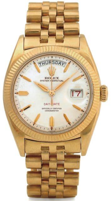 Armbanduhr rolex gold  Rolex: Die Uhr der Päpste und Präsidenten | Watchtime.net