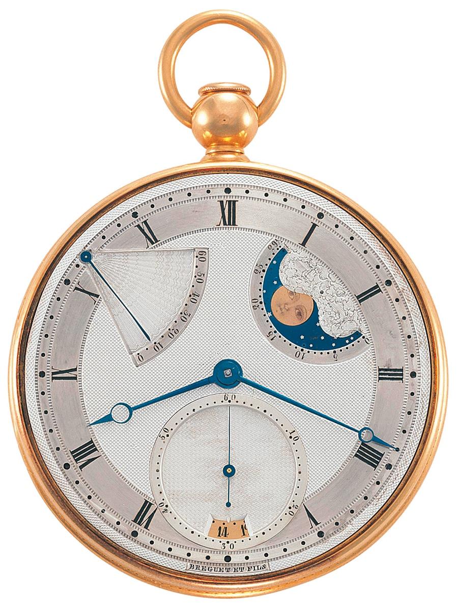 Taschenuhr von Breguet & Fils 1810