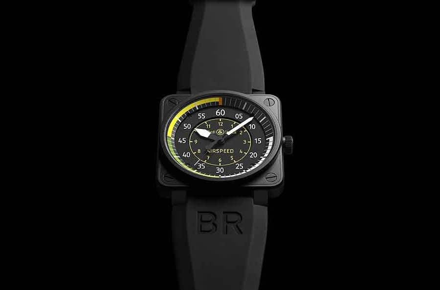 Die Bell & Ross BR 01 Airspeed