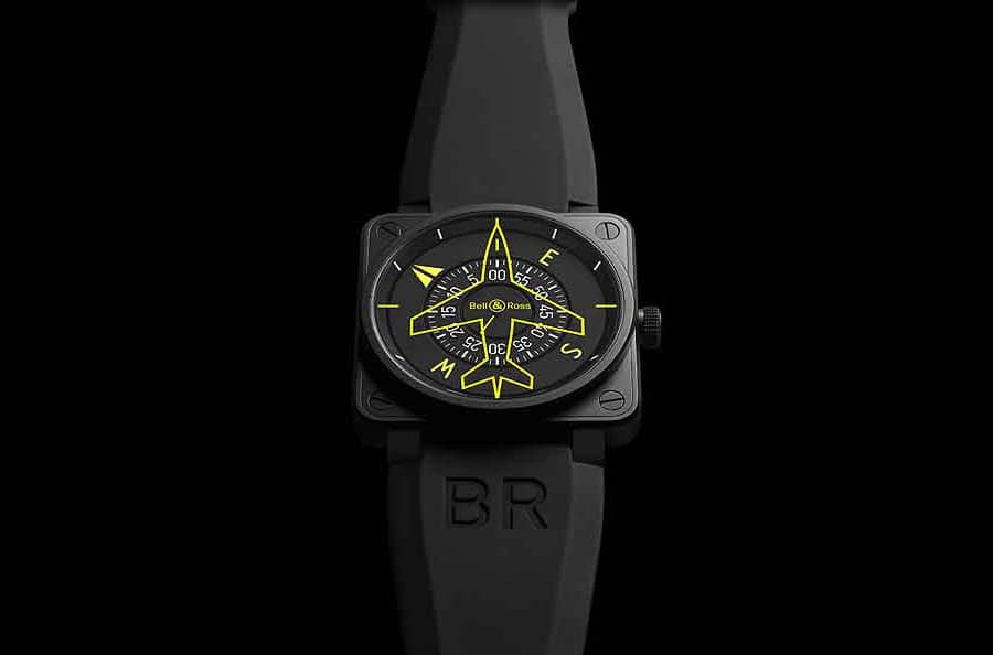 Die Bell & Ross BR 01 Heading Indicator