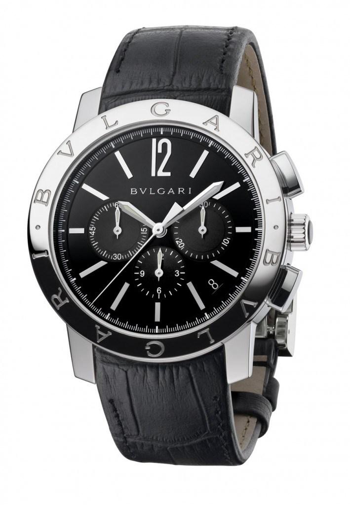 Der Bulgari Bulgari Stopper ist mit dem Zenith-Chronographenkaliber El Primero ausgestattet