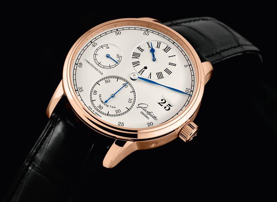Der neue Senator Chronometer Regulator von Glashütte Original in Rotgold