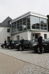 Während der ereignisreichen Tage der Leserreise 2013 bringt  Sie der BMW VIP Shuttle Service zu den besuchten Manufakturen. Zudem haben Sie die Möglichkeit, Ihr Shuttlefahrzeug vor Ort Probe zu fahren.