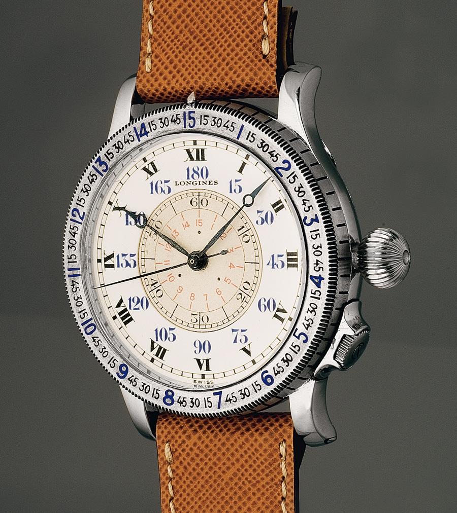 Grad und Bogenminuten: Die Lindbergh ermöglichte das Ablesen des Greenwich-Stundenwinkels