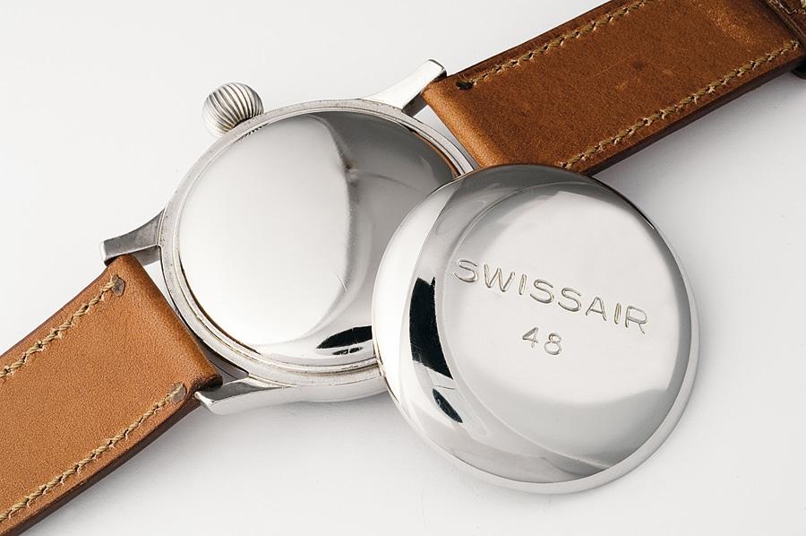 """Modelle waren auf der Rückseite mit """"Swissair"""" und der Ziffer 48 graviert"""