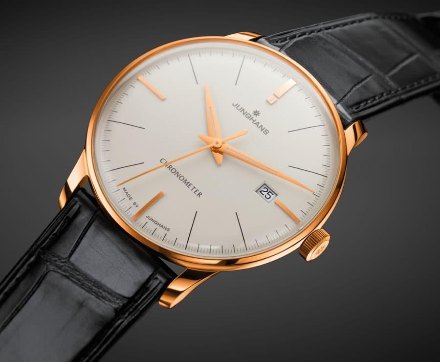 Limitiert auf 99 Stück: die Meister Chronometer Gold von Junghans