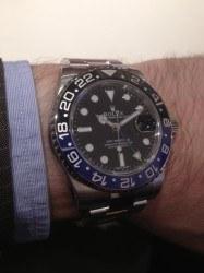 Rx GMT blau-schwarz