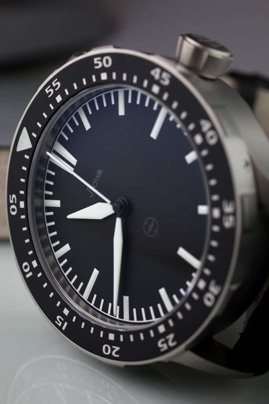 STOWA FLIEGER TO 1 TESTAF Zifferblatt