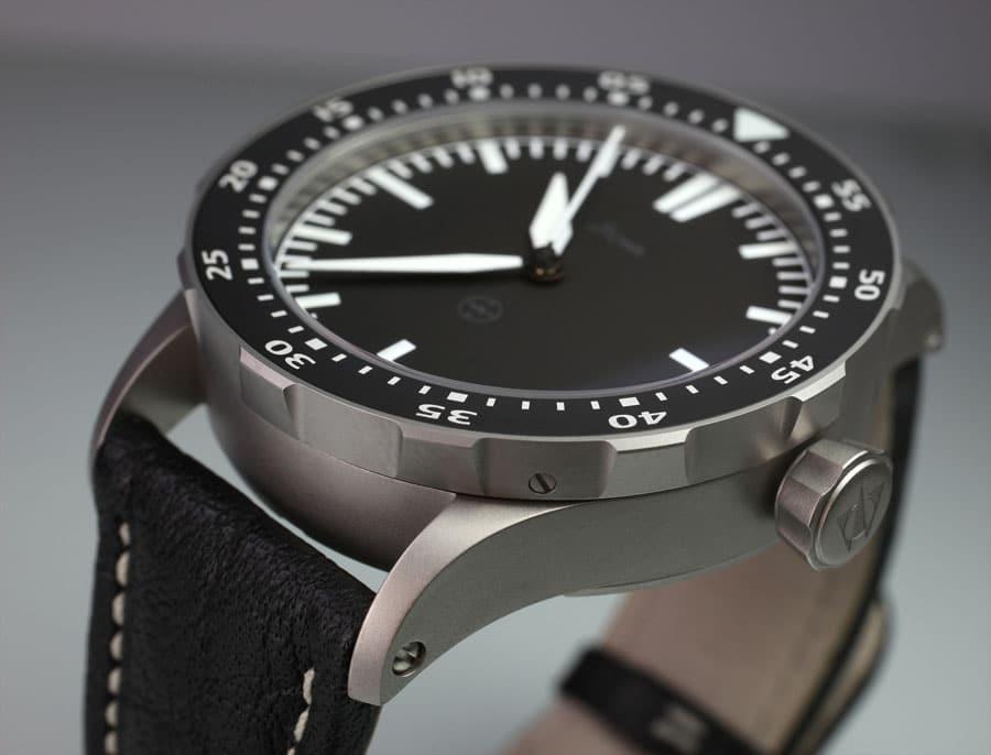 """Flieger TO1 TESTAF: Das """"TO"""" in der geplanten TeStaF-zertifizierten Fliegeruhr von Stowa steht für """"technisch optimiert"""". Die Uhr wird 1.290 Euro kosten und ab Juli 2013 verfügbar sein"""