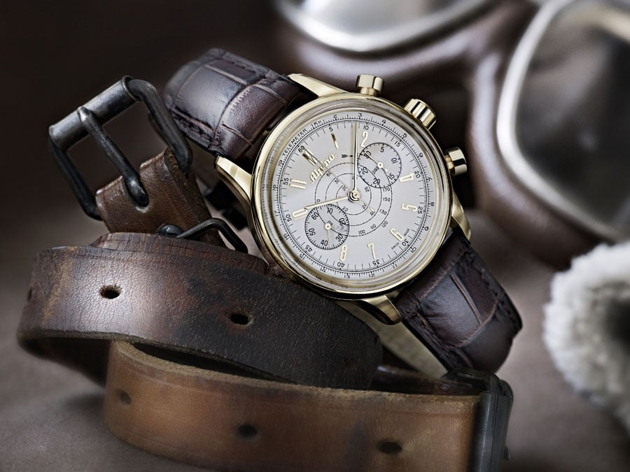 Alpina 130 Heritage Pilot Chronograph