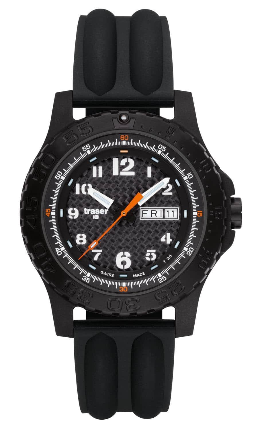 traser® H3 Extreme Sport Carbon Pro mit Silikonband