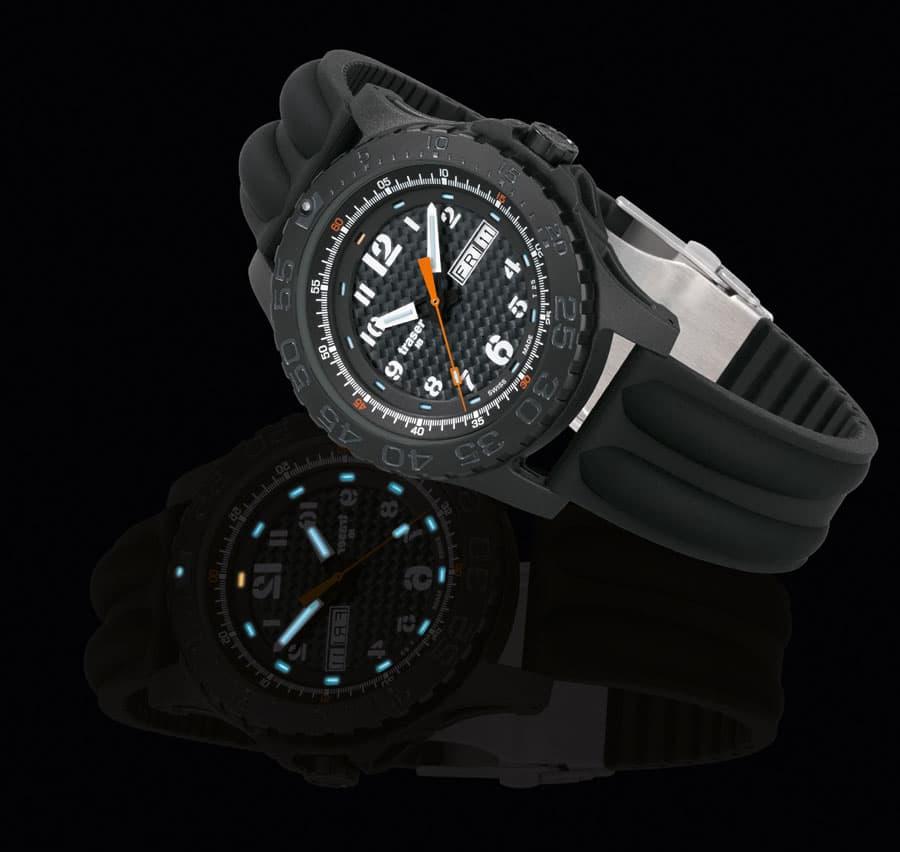 traser® H3 Extreme Sport Carbon Pro (Tages- und Nachtaufnahme)