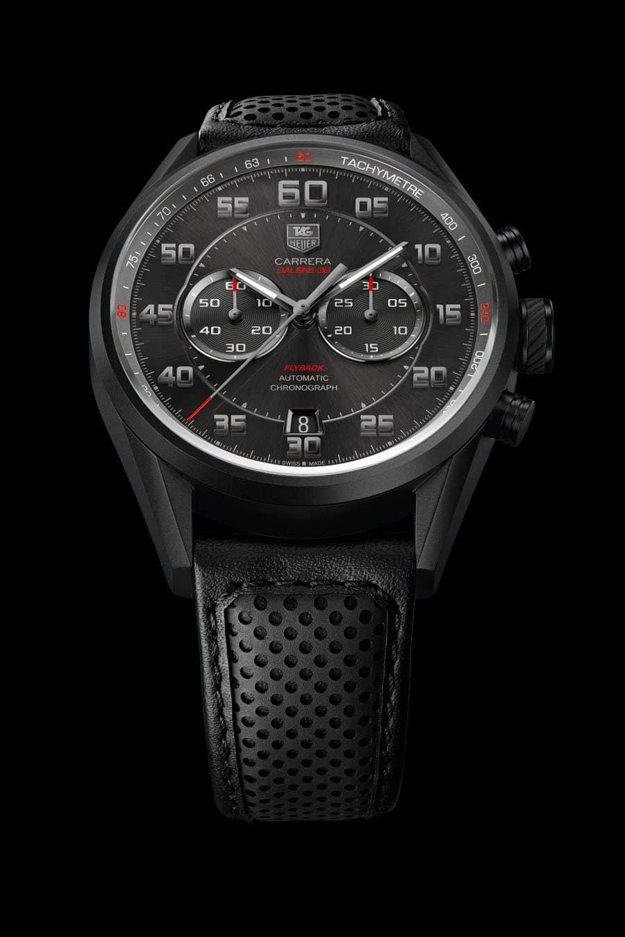 "TAG Heuer: Carrera Calibre 36 Chronograph Flyback ""Racing"""