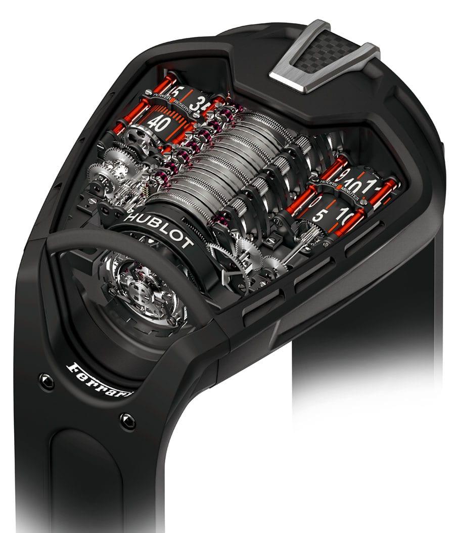 Hublot in Kooperation mit Ferrari: MP-05 La Ferrari