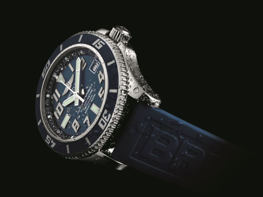 Breitling Superocean42 blue