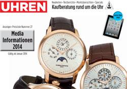 UHREN-MAGAZIN Mediadaten 2014