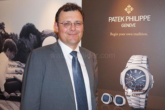 Thierry Stern, Präsident von Patek Philippe