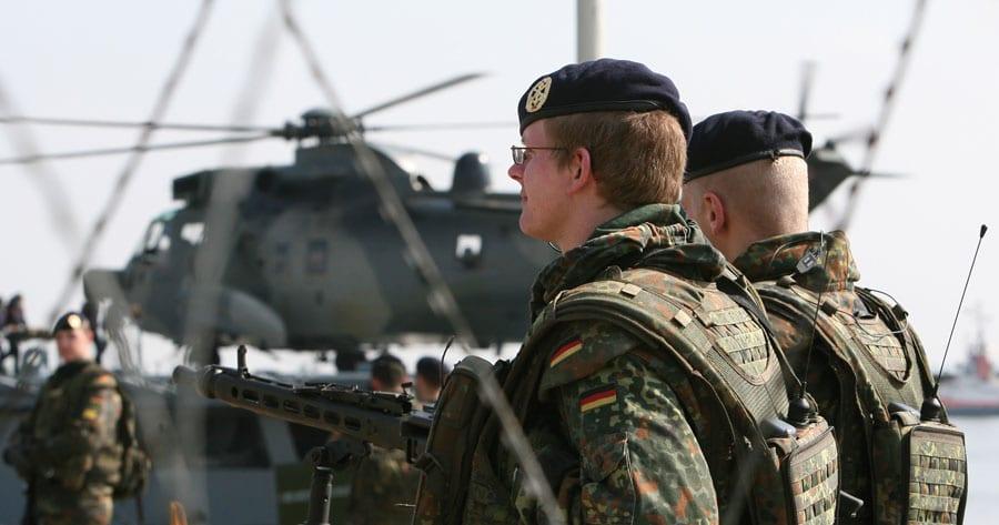 Soldaten des zukünftigen Seebataillons