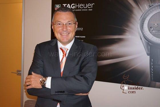 Jean-Christophe Babin, scheidender TAG Heuer CEO (baldiger Bulgari CEO)