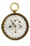 Doppelseitige astronomische Taschenuhr von Jakob Auch