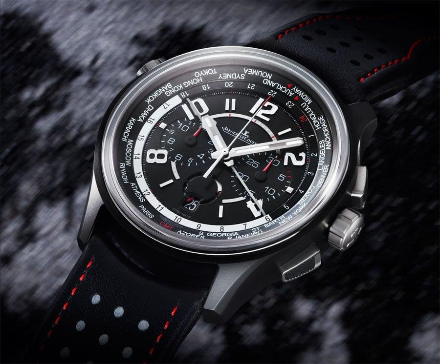 Jaeger-LeCoultre: Amvox5 World Chronograph Cermet