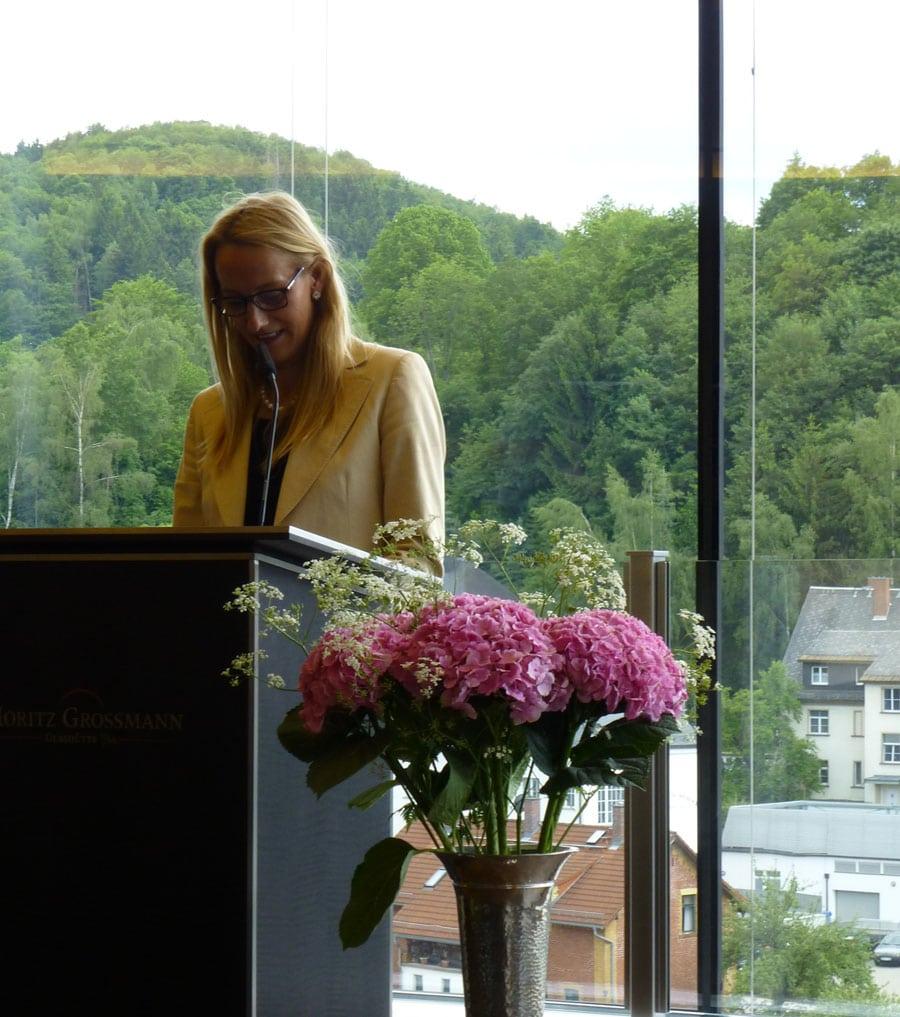 Geschäftsführerin Christine Hutter
