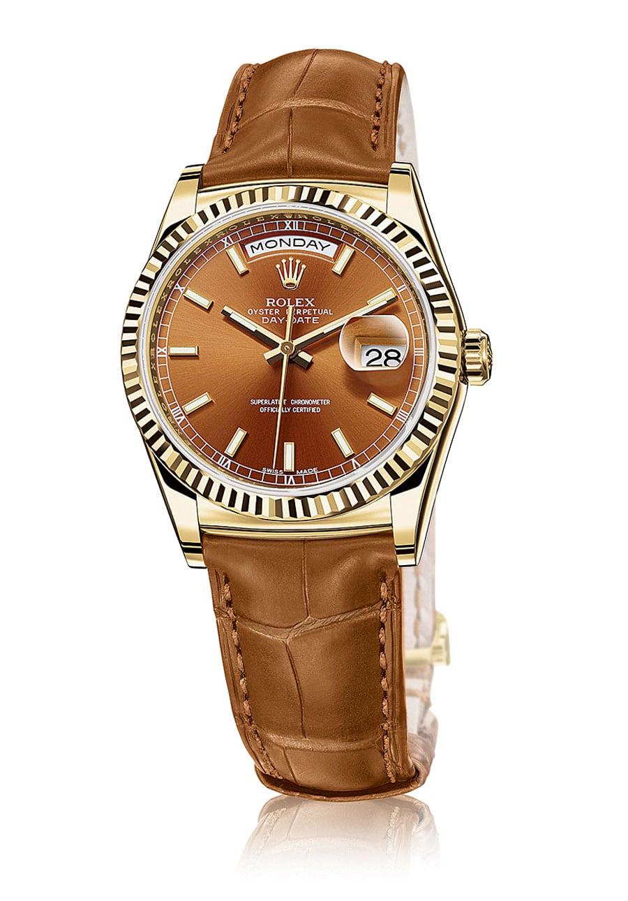 Rolex: Day-Date Gelbgold