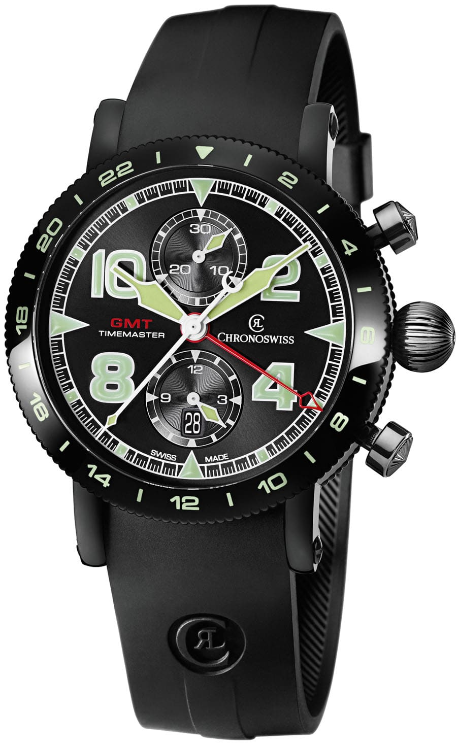Chronoswiss: Timemaster Chronograph GMT