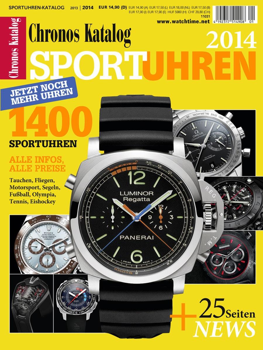 Chronos Sportuhren-Katalog