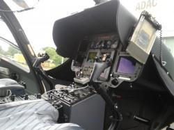 Auf dieser Seite sitzt der Pilot