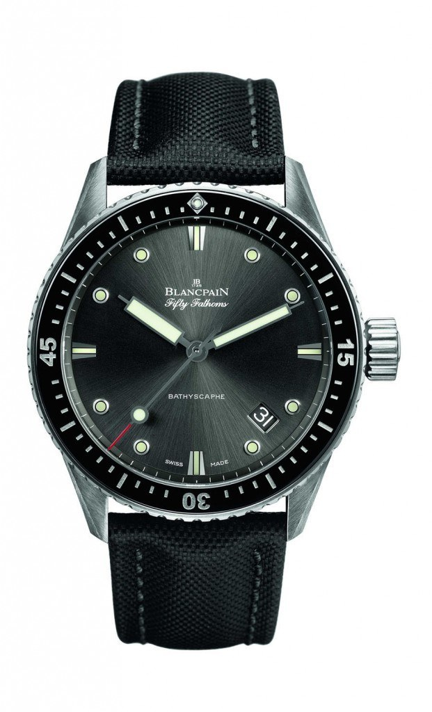 Blancpain: Fifty Fathoms Bathyscaphe