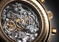 Breguet: Classique Chronograph 5284 Only Watch 2013 Kaliberansicht